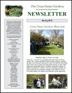 Newsletter Spring 2015