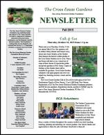 Cross Estate Gardens Newsletter Fall 2015